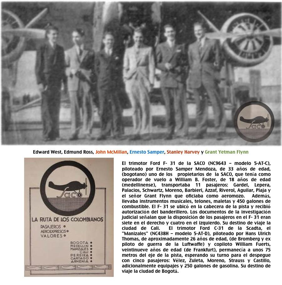 Saco pilotos 1935 Ford Trimotor