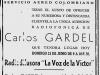 SACO Gardel 23 junio 1935