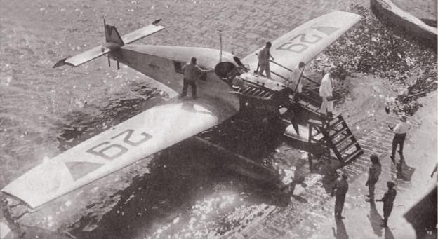 Junkers F13 en Veranillo, Barranquilla