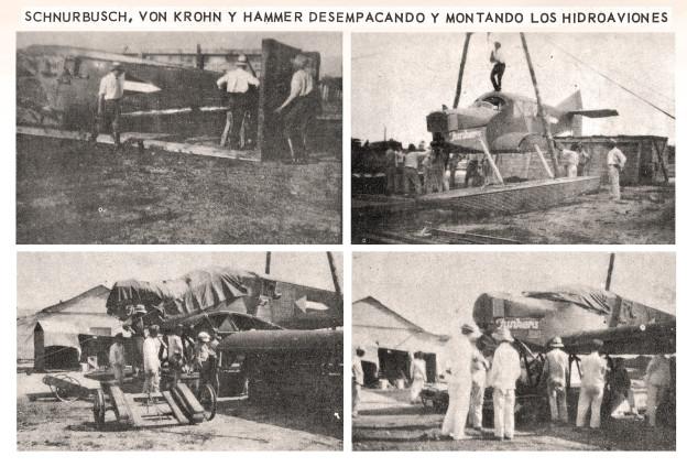 Ensamble Hidroaviones de Scadta 1920