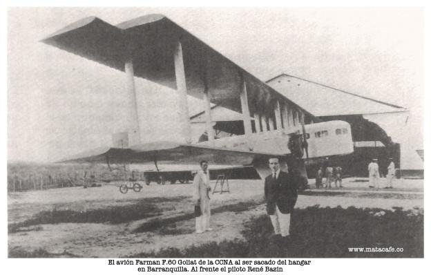 "Farman F.60 Goliath ""Barranquilla"""