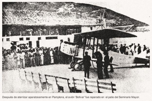 Curtiss Standard J-1 'Bolivar' de Camilo Daza 16 marzo 1923