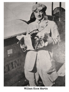 William Knox Martin piloto